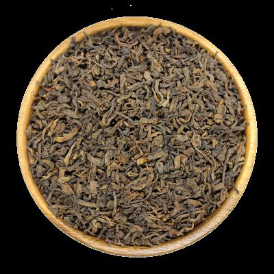 Китайский чай крупнолистовой черный Шу ПУЭР OP