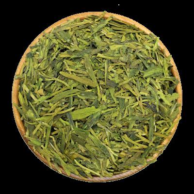 Китайский чай крупнолистовой зеленый Лун Цзинь