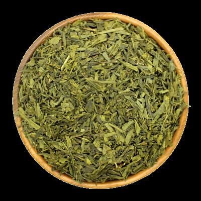 Китайский чай крупнолистовой зеленый Сенча