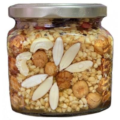 Мёд ореховое ассорти куб